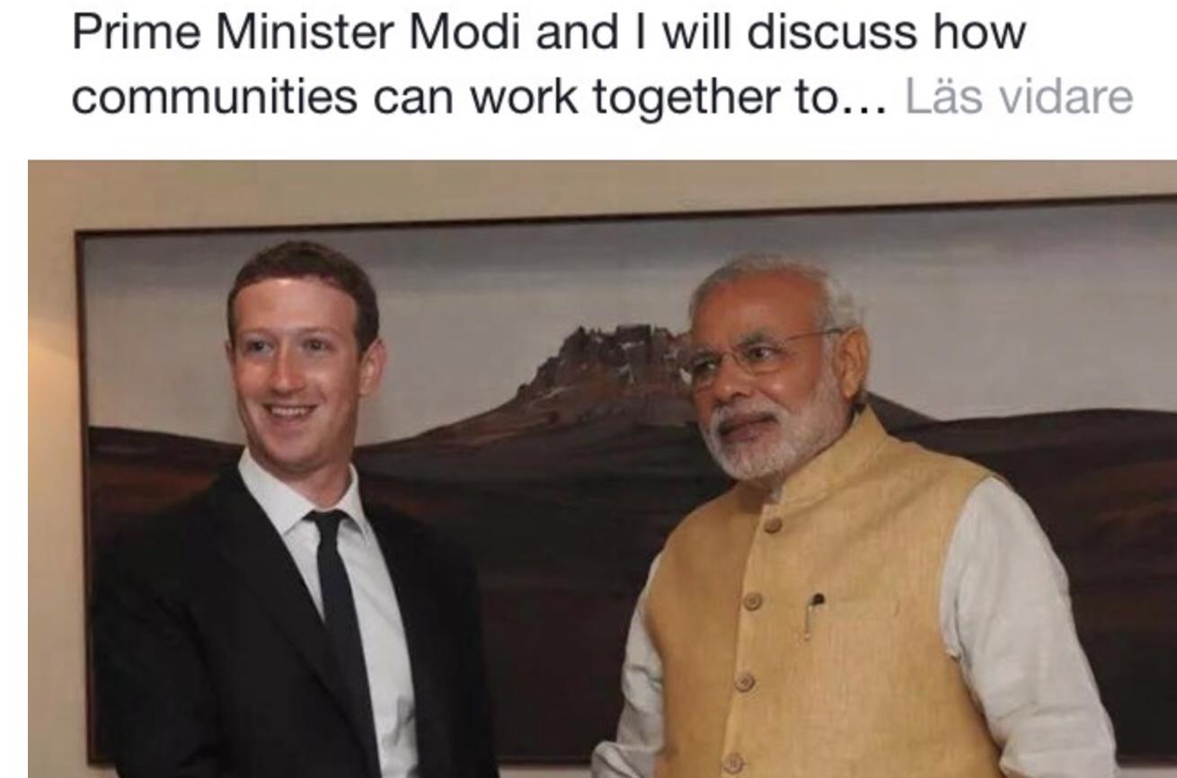 Uppgift för premiärministern