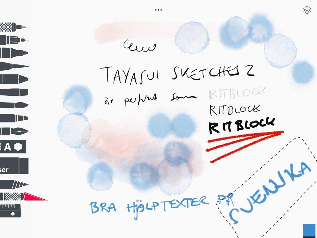 Tayasui sketches 2