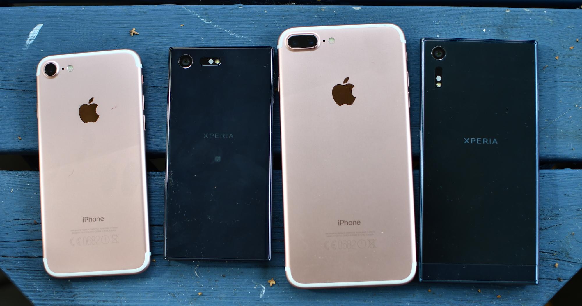 Apple vs Sony – vilka bilder blir bäst?