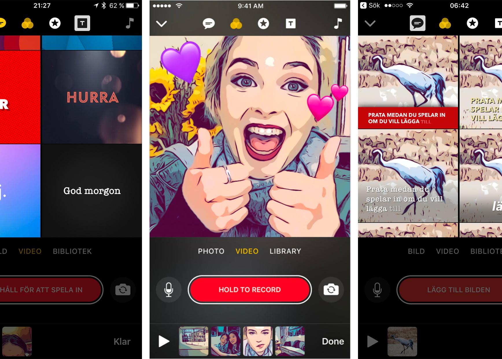 Ny app textar videon direkt