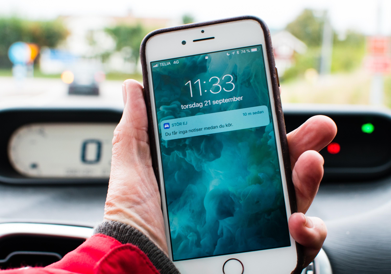 Nu slipper iphoneägare pip i bilen