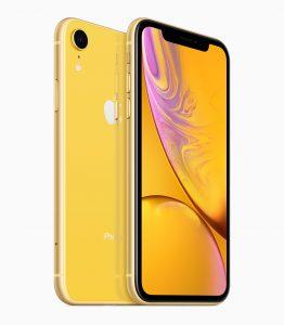 Gul iphone XR