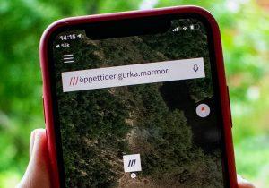 ///öppettider.gurka.marmor - en plats i skogen utanför Partille