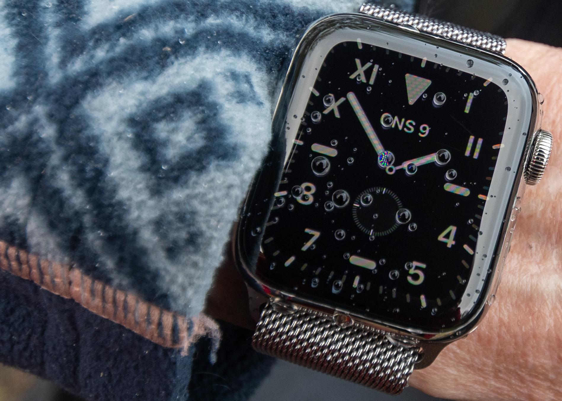 Smart klocka som alltid är vaken