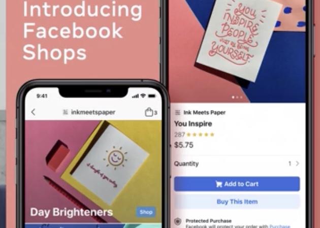 Snart kan du sätta upp affär på Facebook
