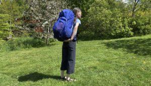 fullpackad ryggsäck