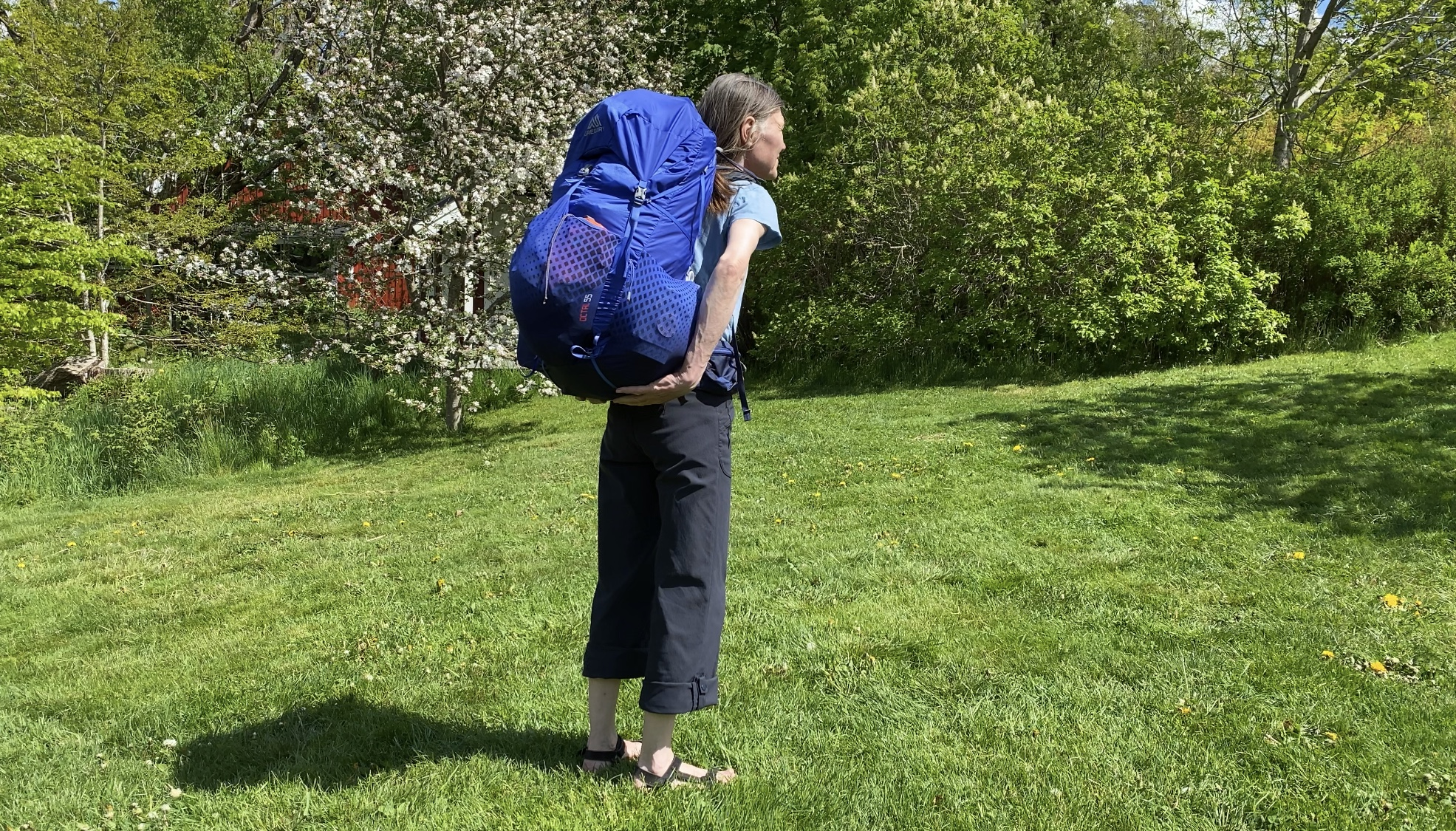 Gregory Octal, en lättare ryggsäck