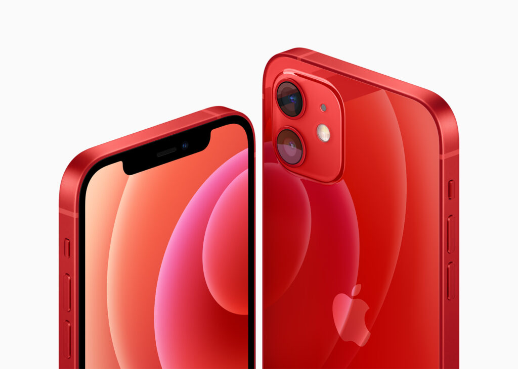 röd iphone